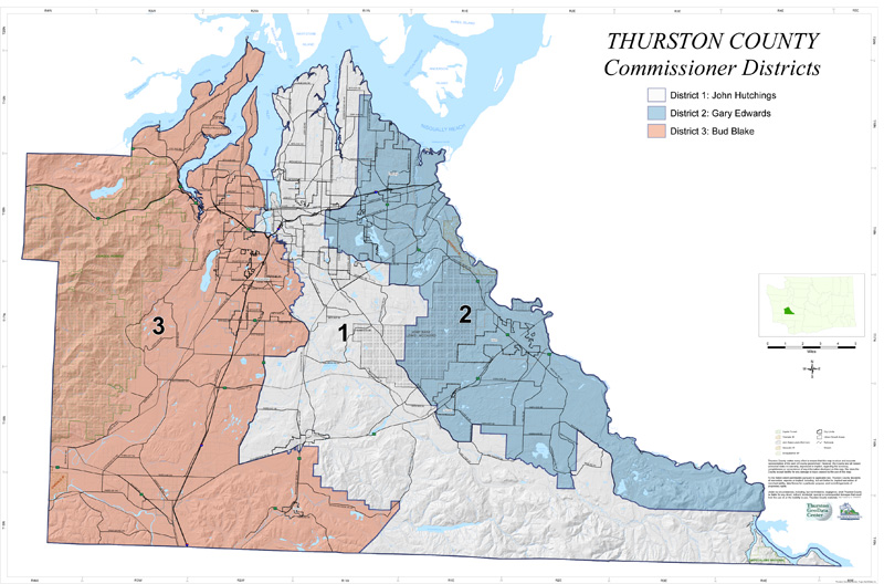 Thurston County District Map